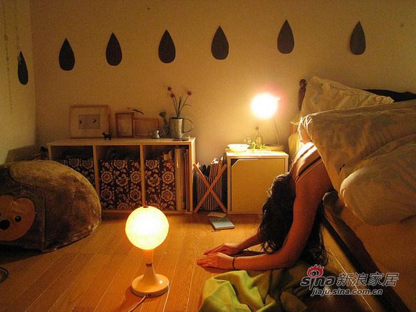 简约 公寓 卧室图片来自用户2737950087在20平的日系简约家居86的分享
