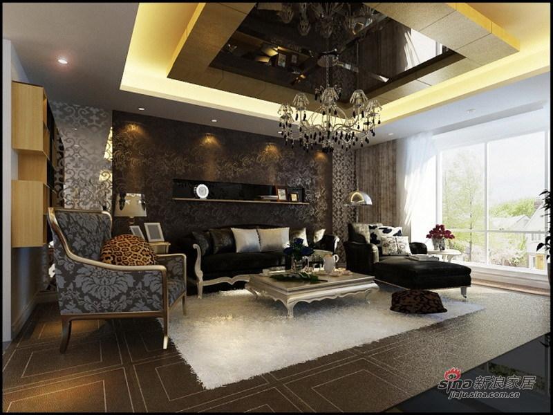 欧式 三居 客厅图片来自用户2746889121在7.6万硬装120平华丽大气欧式3居46的分享