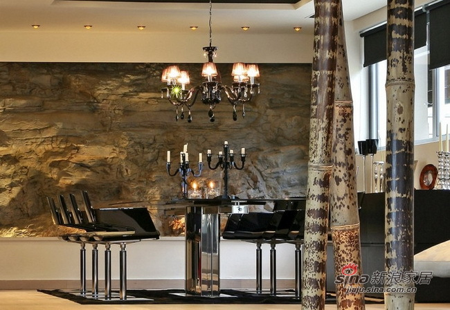北欧 别墅 餐厅图片来自用户1903515612在小开30万168平带泳池新复古别墅97的分享