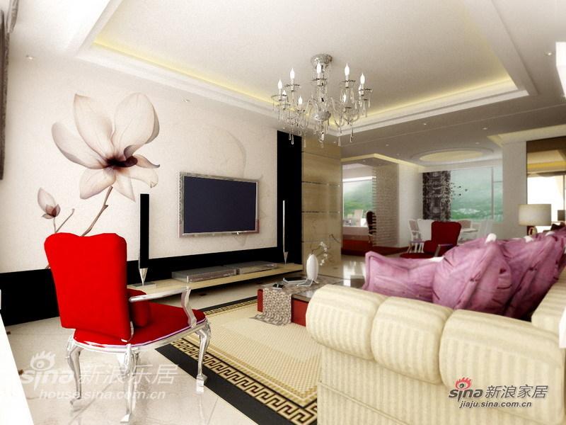 简约 一居 客厅图片来自用户2737786973在简约品质时尚空间--保利.香槟花园32的分享