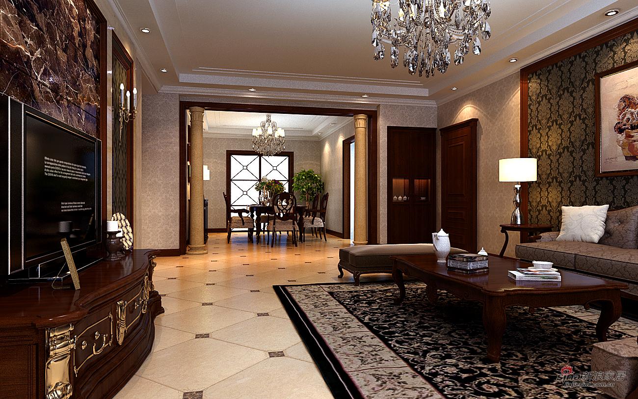欧式 四居 客厅图片来自用户2772873991在欧式低调奢华四居室组图89的分享