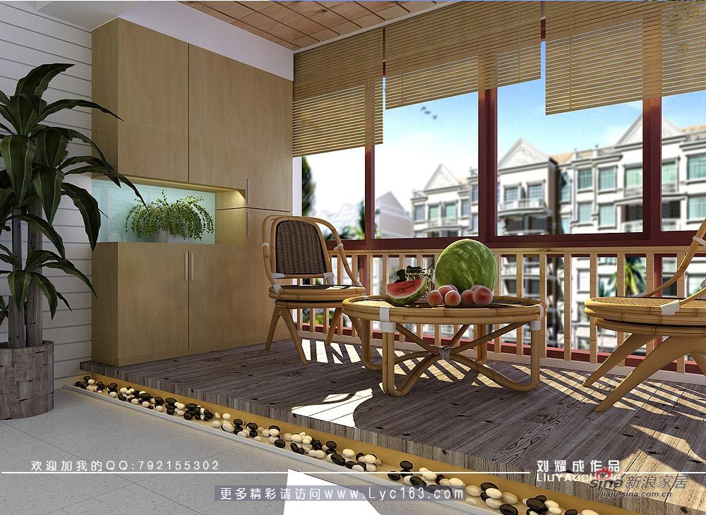 简约 四居 阳台图片来自用户2557010253在感受中庸之道的设计--山水洲城样板房设计80的分享