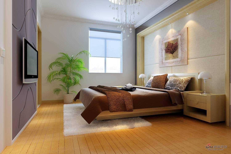简约 四居 卧室图片来自用户2738820801在辣妈打造163平保利蓝海郡装修设计43的分享