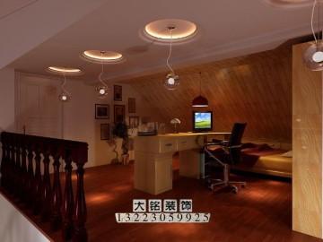 230平温馨复式楼设计装修,复式楼装修效果图17