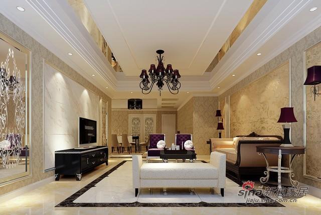 欧式 三居 客厅图片来自用户2772856065在金色漫香苑95的分享