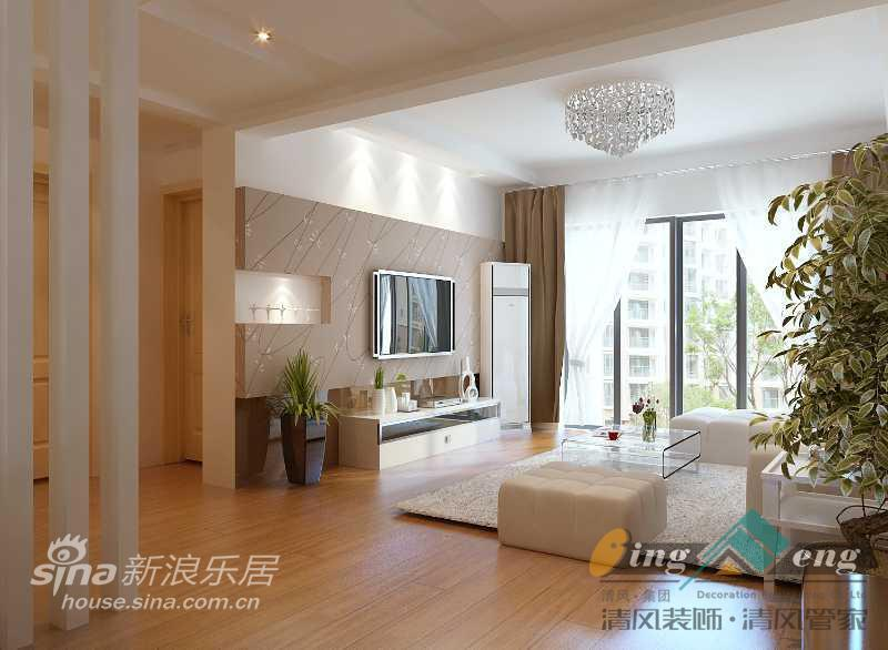 其他 别墅 客厅图片来自用户2558757937在苏州清风装饰设计师案例赏析430的分享