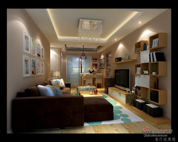 实创装饰-客厅