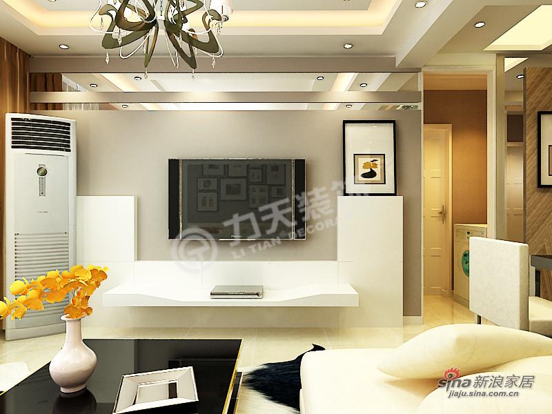 简约 三居 客厅图片来自阳光力天装饰在枫丹天城-三室两厅一卫-现代简约52的分享