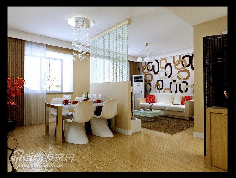 简约 三居 客厅图片来自用户2556216825在120平米灵动大气的时尚空间60的分享