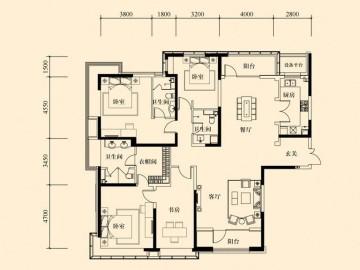 招商钻石山公寓欧式风格软装配饰效果图赏析12