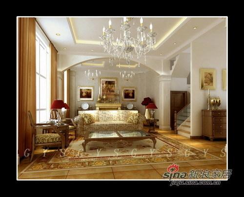 欧式 三居 客厅图片来自用户2557013183在欧式硬朗风体现实用美78的分享