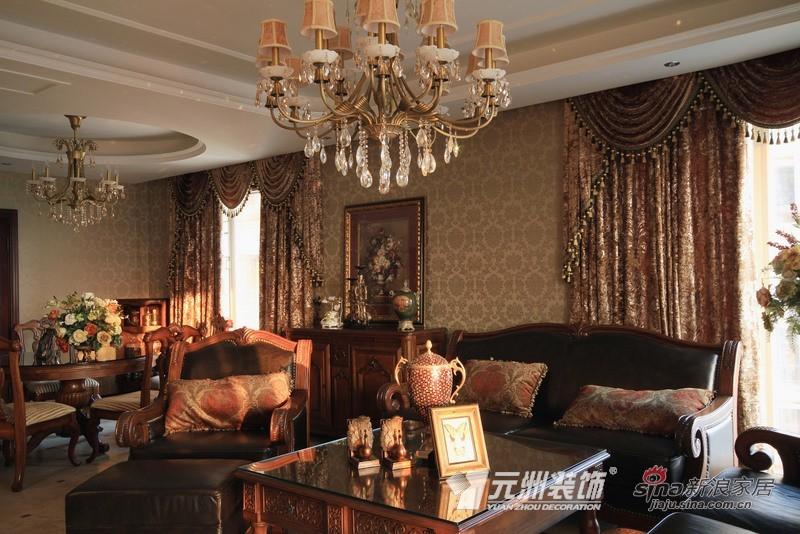 欧式 二居 客厅图片来自用户2557013183在复古英伦家居风 浪漫火舞新春46的分享