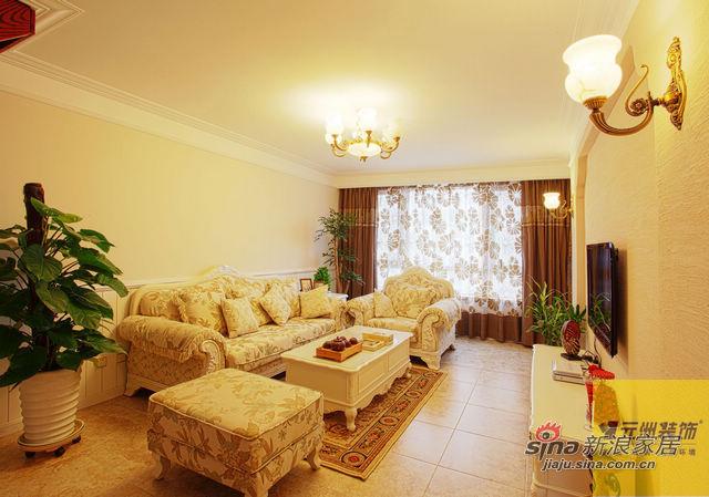 地中海 四居 客厅图片来自用户2757320995在地中海风格美家40的分享