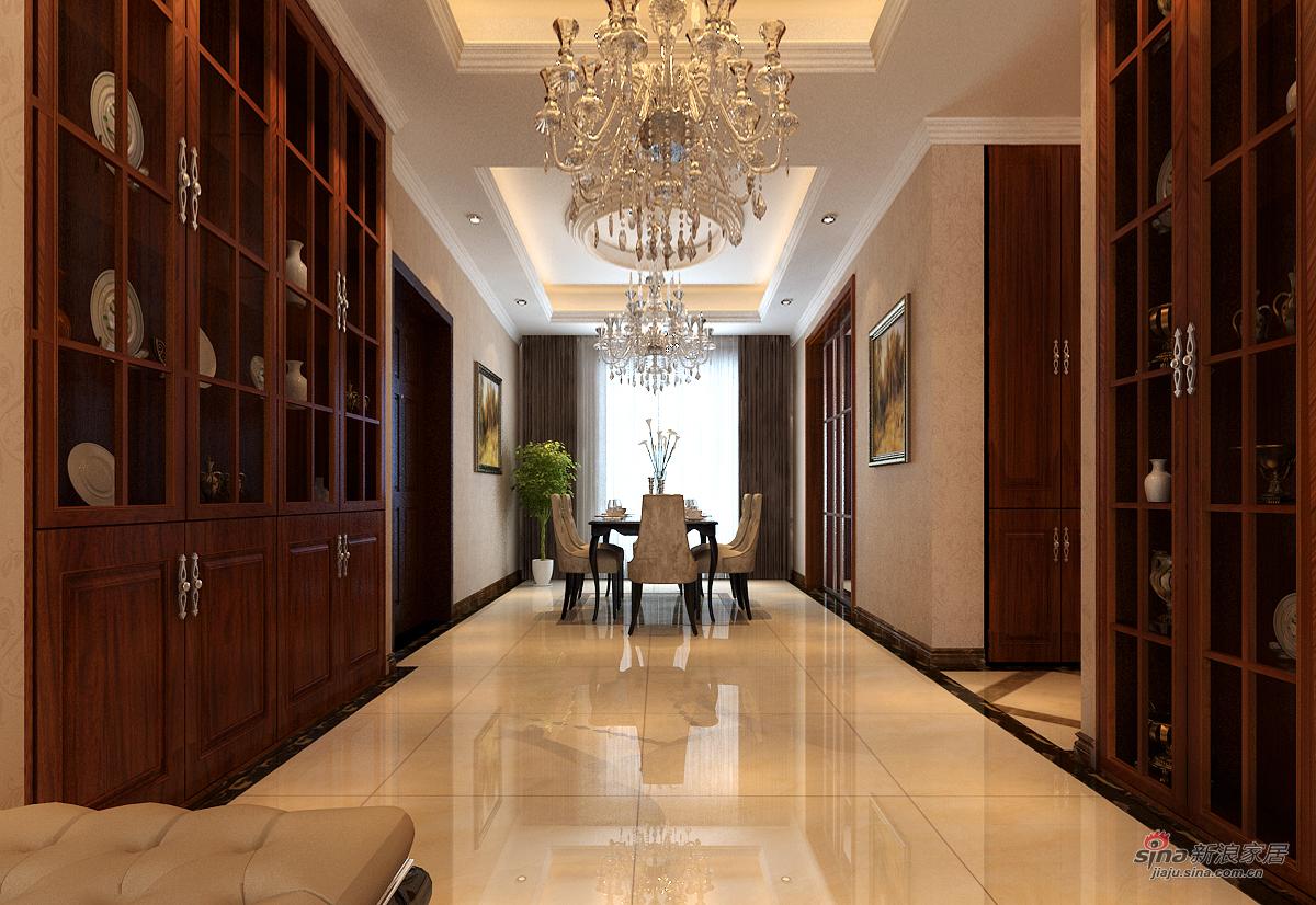 欧式 四居 餐厅图片来自用户2746869241在欧式风格漂亮四居室47的分享