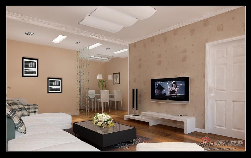 简约 三居 客厅图片来自用户2737782783在阳光简约19的分享