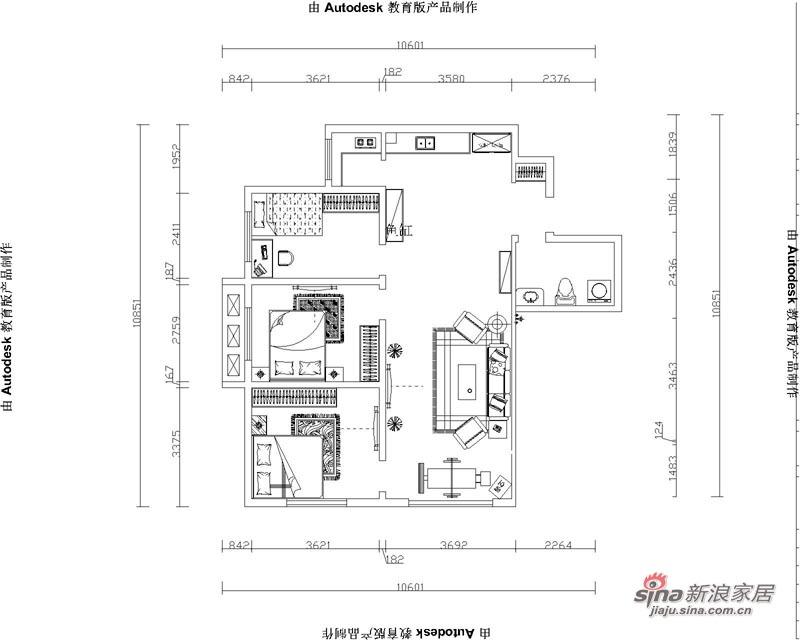 欧式 三居 其他图片来自用户2772873991在欧美小镇117平米-三室两厅-简欧风格48的分享