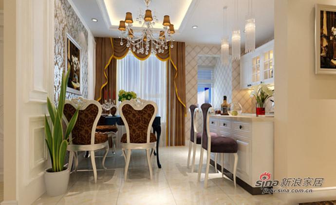 欧式 三居 餐厅图片来自用户2772856065在我的专辑568109的分享