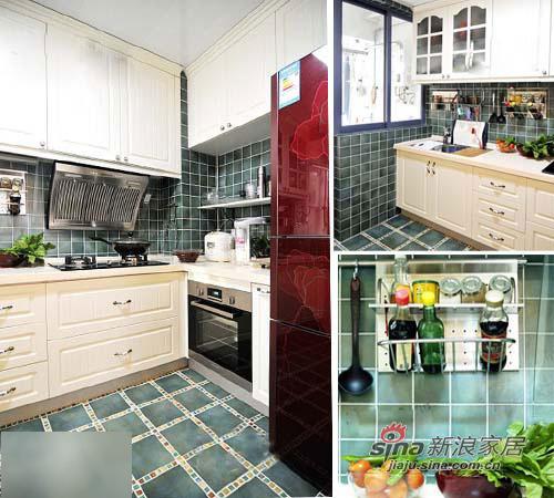 简约 二居 厨房图片来自用户2557010253在新婚小两口60平温馨田园美家37的分享