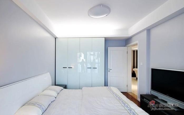 简约 三居 卧室图片来自用户2737782783在实景9万秀150平方3居室婚房19的分享
