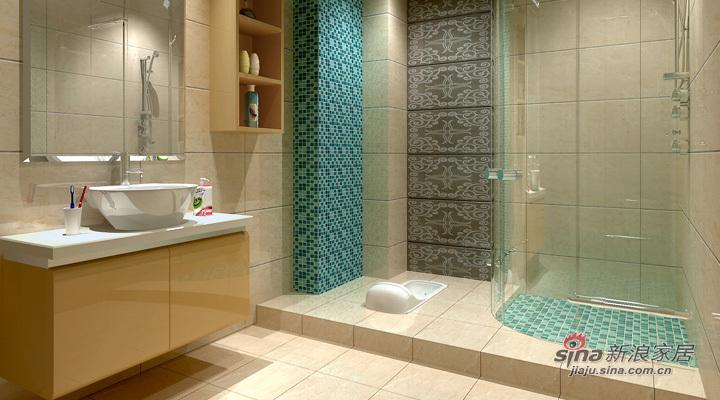 简约 二居 卫生间图片来自用户2739081033在天津实创-松江城现代简约两居34的分享