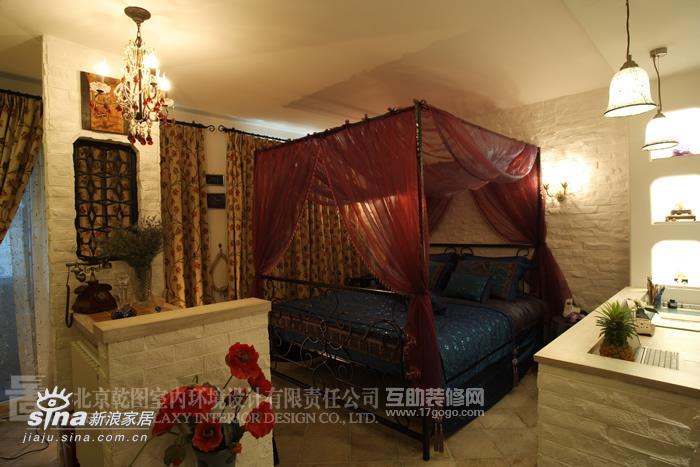 其他 一居 卧室图片来自用户2737948467在小户型里的地中海风情12的分享