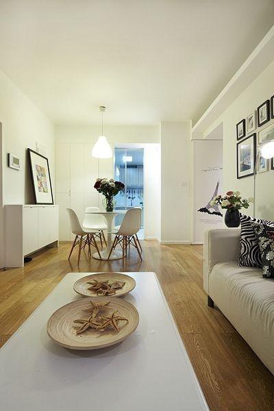 简约 二居 客厅图片来自用户2738845145在5.5万打造现代明亮舒适2居室69的分享