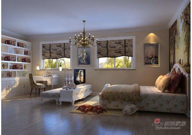 田园 二居 卧室图片来自用户2737791853在88平米保利茉莉公馆田园风格装修69的分享