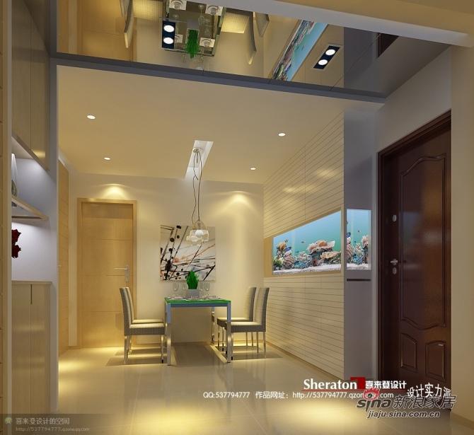 简约 二居 餐厅图片来自用户2557979841在8万装90平简而求雅2室2厅46的分享