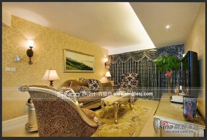 欧式 四居 客厅图片来自用户2557013183在欧式古典40的分享