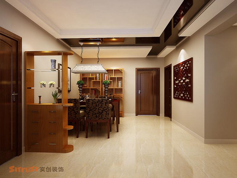 其他 三居 餐厅图片来自用户2771736967在8万宁静打造舒适、暇意现代中式三居室12的分享