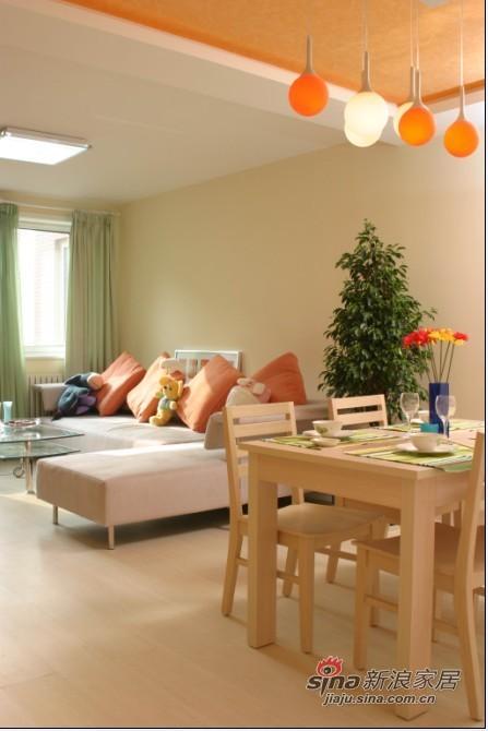 简约 二居 客厅图片来自用户2739081033在4.9万暖色调装扮温馨2居85的分享