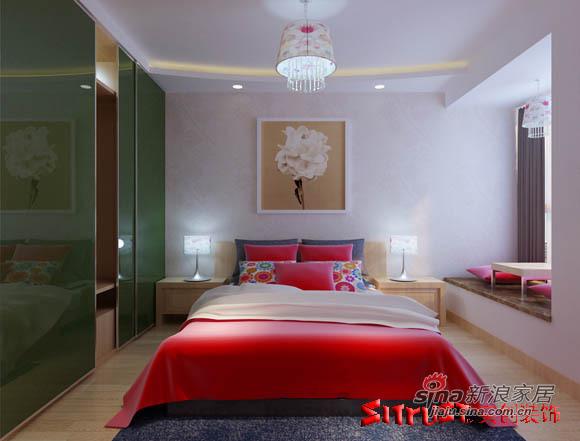 简约 三居 卧室图片来自用户2737735823在4.5万轻松铸造90平爱居33的分享