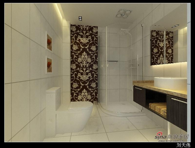 简约 二居 卫生间图片来自用户2739153147在现代简约设计88的分享