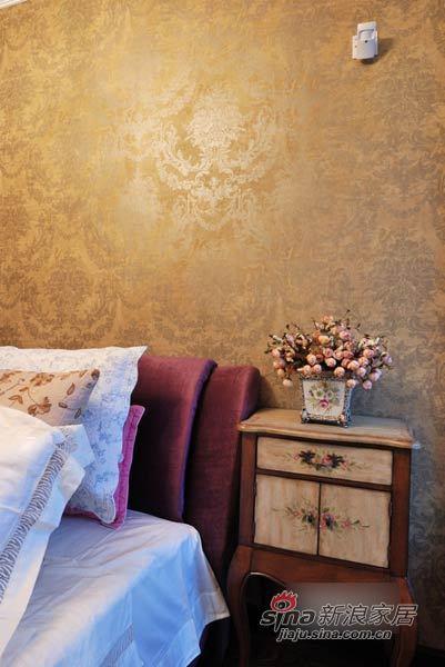 美式 三居 卧室图片来自用户1907685403在腐女12万精装110平美式田园小家57的分享