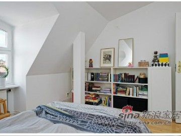 宅女35平小公寓玩转北欧风书香格调54