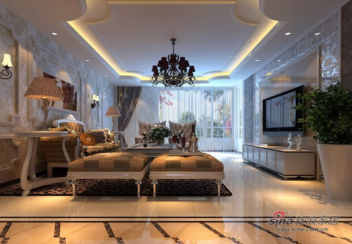 欧式 四居 客厅图片来自用户2772873991在我的专辑889095的分享