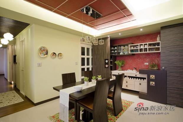 新古典 二居 餐厅图片来自用户1907664341在新颖别致的古典主义的分享