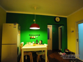 简约 一居 餐厅 屌丝 温馨 实用图片来自用户2738829145在两居改成大一居  4万改造48平简单家70的分享
