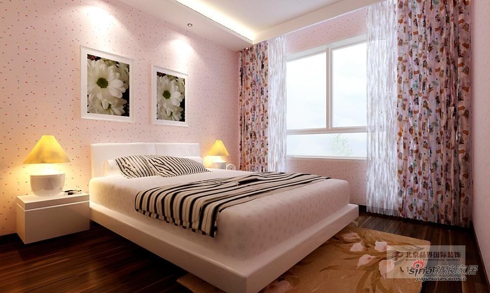 简约 别墅 卧室图片来自用户2737786973在【高清】现代简约180复式51的分享