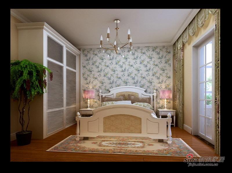 田园 二居 卧室图片来自用户2557006183在简约田园小家23的分享