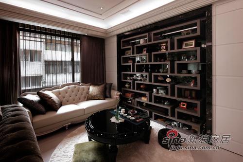 简约 别墅 客厅图片来自幸福空间在美感与机能兼备的新古典豪宅72的分享