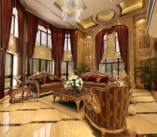 新古典 别墅 客厅图片来自用户1907701233在嘉禾城别墅34的分享