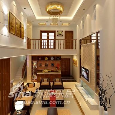 其他 别墅 客厅图片来自用户2558757937在清风装饰案例展-勾起怀旧的传统古典58的分享