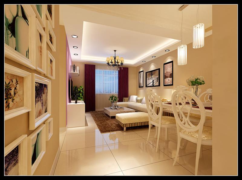 简约 二居 客厅图片来自用户2739081033在5.5万铸造首开智慧社--现代简约两居室17的分享