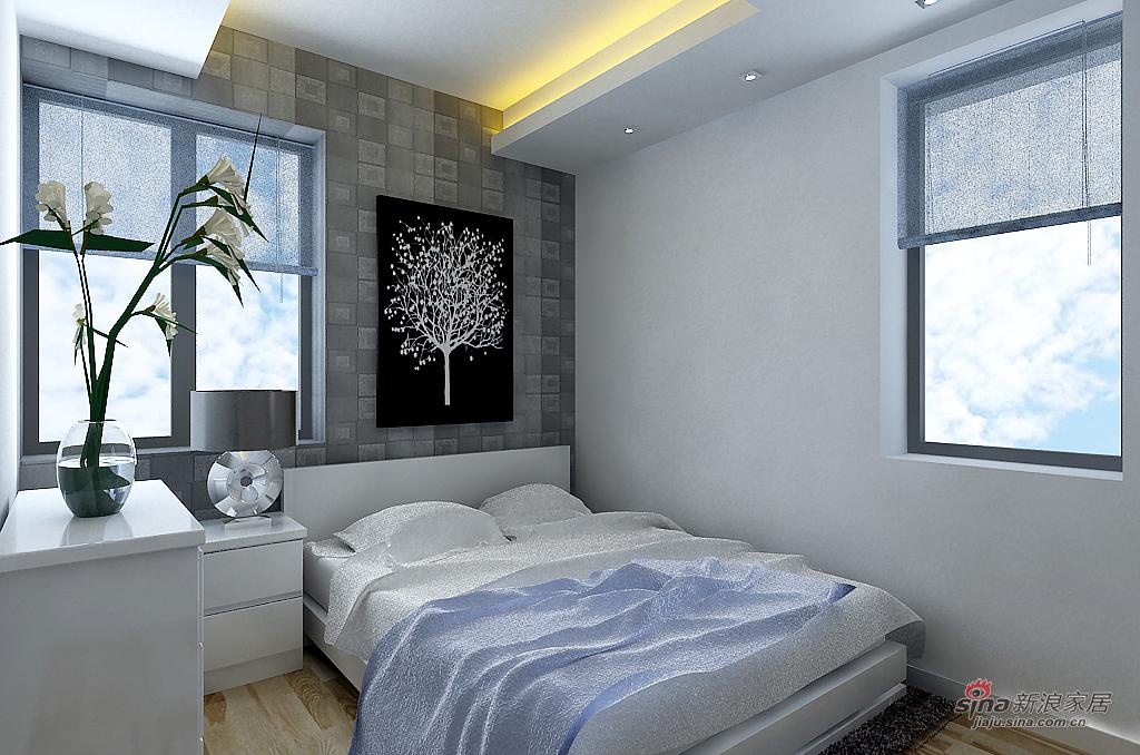 混搭 三居 卧室图片来自用户1907655435在7万元打造 瞰海尚府153平米 三局 混搭风格33的分享