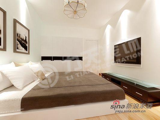 简约 二居 卧室图片来自阳光力天装饰在清爽美居还您一份清新的感觉85的分享