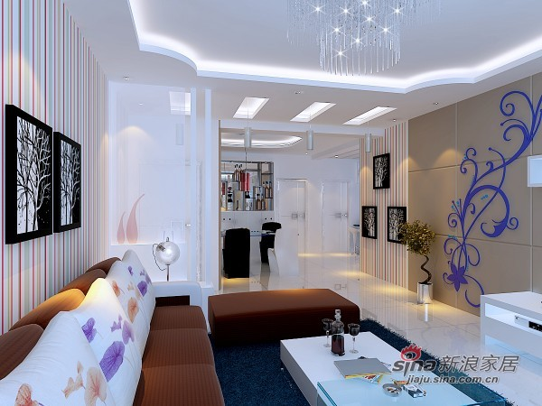 简约 二居 客厅图片来自用户2737735823在亮丽明快的现代两居80的分享