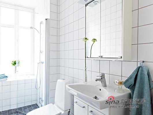 北欧 一居 卫生间图片来自用户1903515612在80后小夫妻85平北欧风简约温馨家39的分享