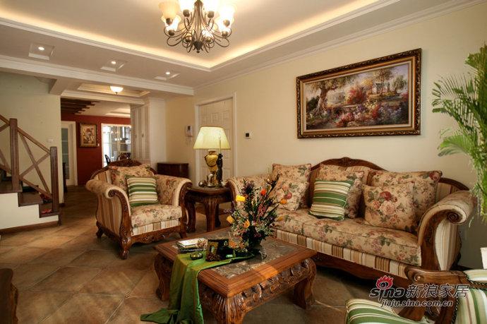 欧式 跃层 客厅图片来自用户2557013183在欧式loft奢华设计81的分享