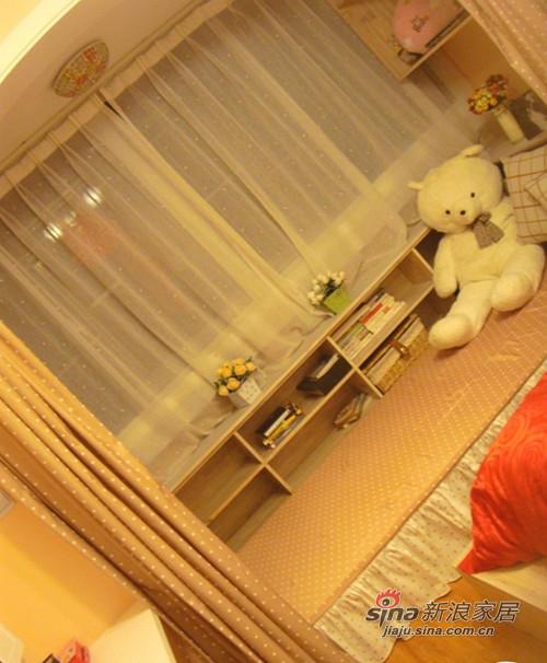田园 一居 卧室图片来自用户2557006183在超牛准爸妈3万装47平田园60的分享
